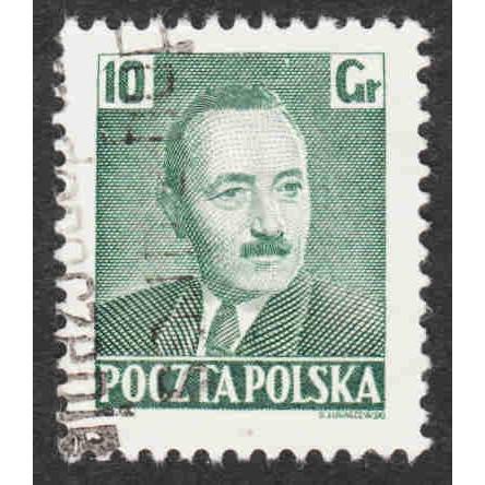 Poland - Scott #491 Used (1)