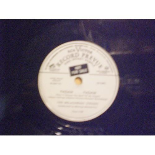 78 RPM: #1961.. MELACHRINO STRINGS - PADAM ... PADAM & WALTZ OF PAREE / RCA VICT