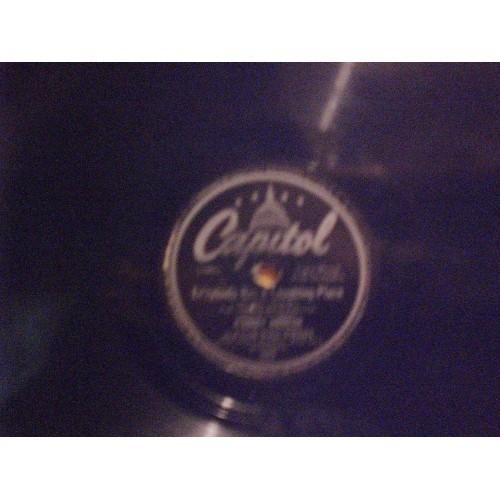 78 RPM: #1975.. JOHNNY MERCER - ZIP-A-DEE-DOO-DAH & EV'RYBODY HAS A LAUGHING PL