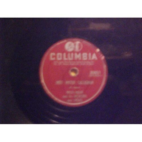 78 RPM: #2012.. MITCH MILLER - MEET MISTER CALLAGHAN & HOW STRANGE / COLUMBIA