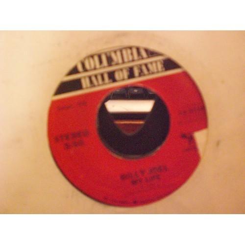 45 RPM: #6019.. BILLY JOEL - MY LIFE & BIG SHOT / COLUMBIA HOF 13-33381