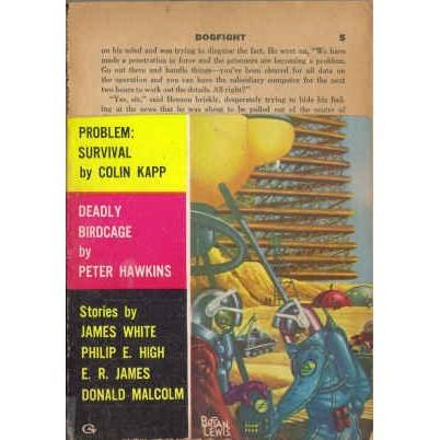 NEW WORLDS 1960/ 4 Colin Kapp, Philip E High