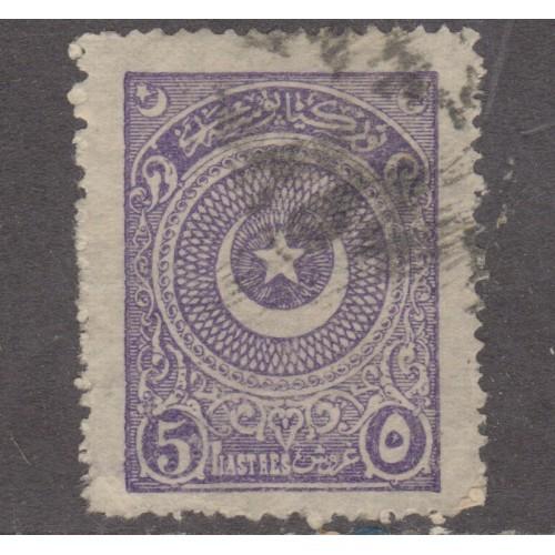 USED TURKEY #613 (1923-1925)