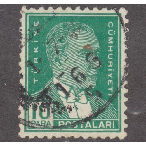 USED TURKEY #737 (1931)