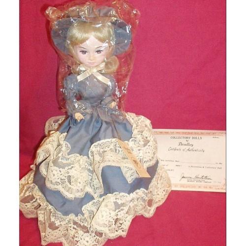 Bradley Doll- Blue Dress Used - Good condition