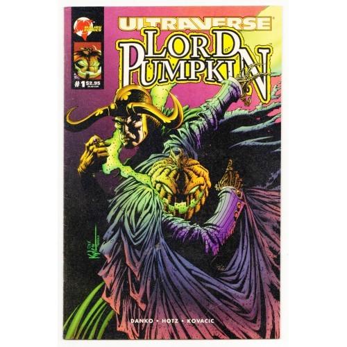 1995 Lord Pumpkin / NecroMantra Flip Book Comic # 1 – VF