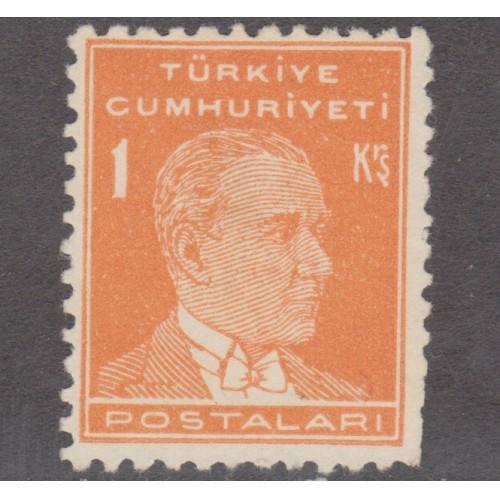 UNUSED TURKEY #1118 (1953)