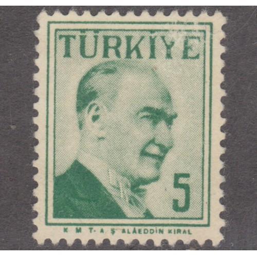USED TURKEY #1268 (1957)