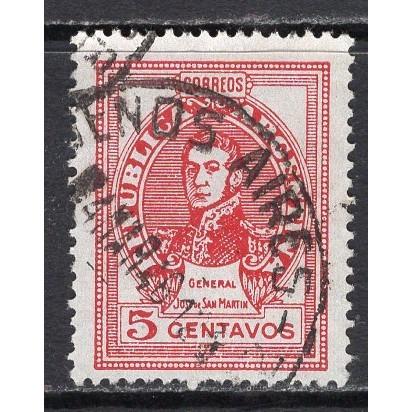 Argentina (1945) Sc# 547 used (2); SCV $0.25