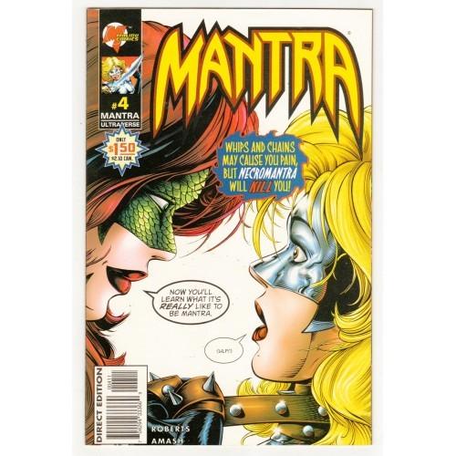 1996 Mantra Comic # 4 – NM