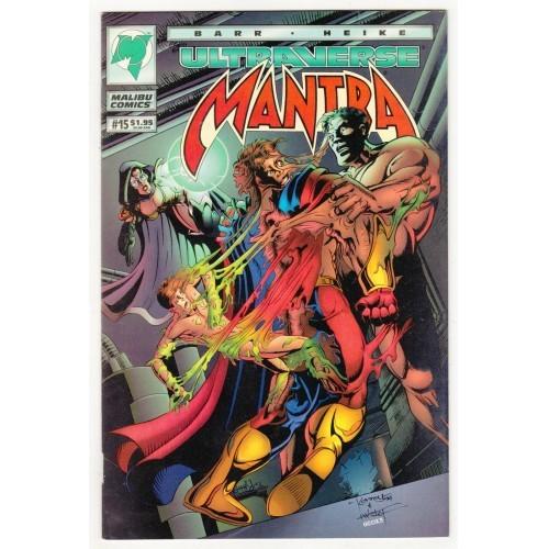 1994 Mantra Comic # 15 – VF+