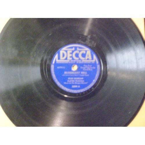 78 RPM: #1967.. RUSS MORGAN -  BLUEBERRY HILL & I'M HOME AGAIN / DECCA 3290