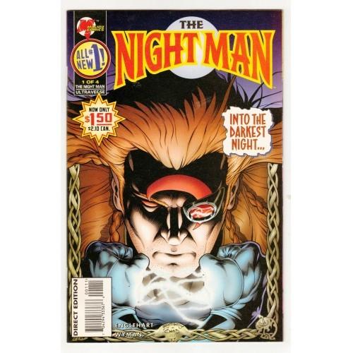 1995 The Night Man Comic # 1 – NM