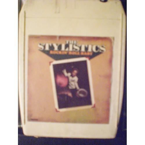 USED 8 TRACK: #1000.. THE STYLISTICS - ROCKIN' ROLL BABY / AVCO 1010