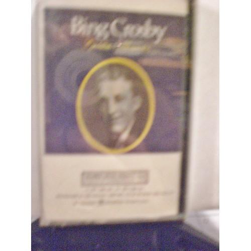 SEALED CASSETTE TAPE: #69.. BING CROSBY - GOLDEN MEMORIES VOL. 1 / COLUMBIA SP