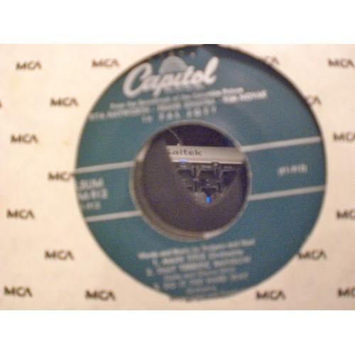 45 RPM EP: SCRIPTO #3422.. BOBBY DARIN - SERMON OF SAMSON - ALL BY MYSELF - IF A