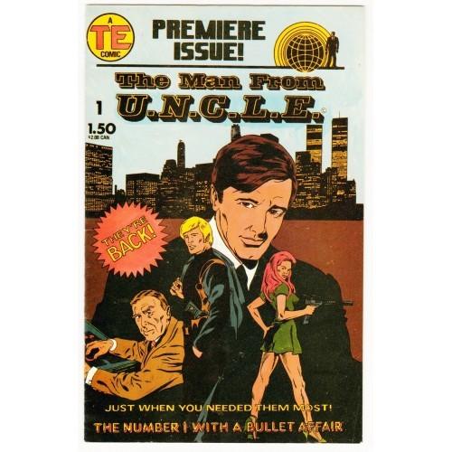 1987 The Man From U.N.C.L.E Comic # 1 – FN+