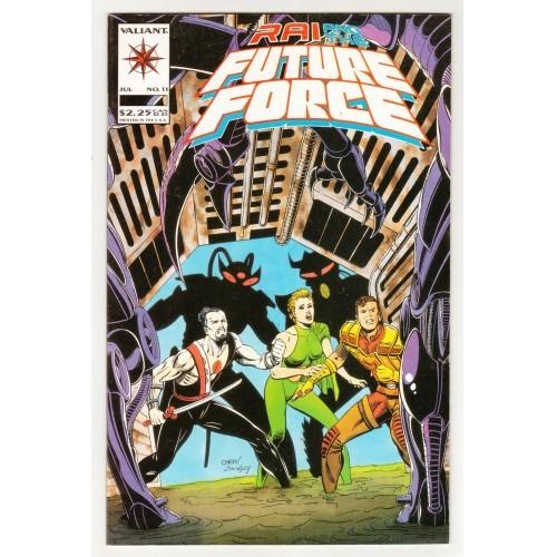 1993 Rai And The Future Force Comic # 11 – NM