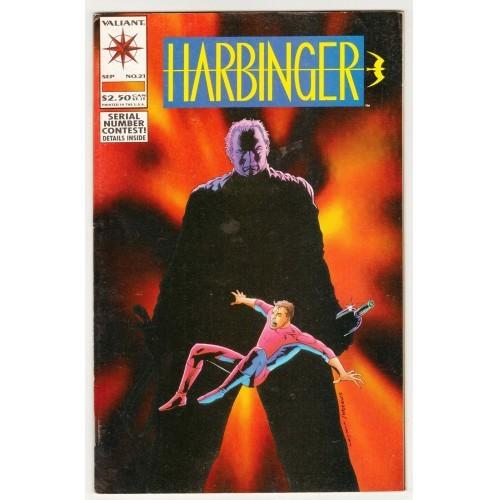 1993 Harbinger Comic # 21 – FN+