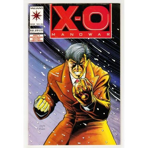 1994 X-O Manowar Comic # 26 – FN