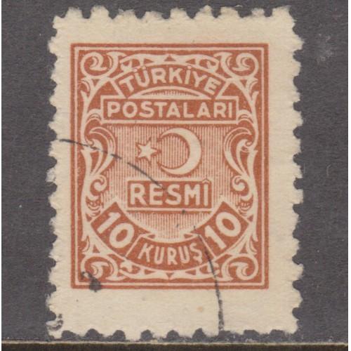 USED TURKEY #O6 (1948)