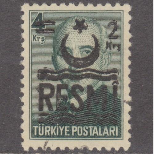 USED TURKEY #O40 (1957)