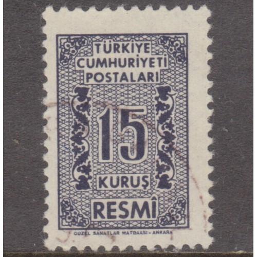 USED TURKEY #O79 (1962)