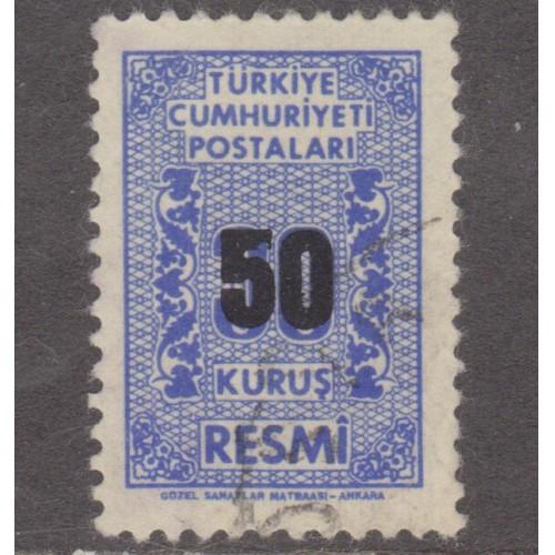 USED TURKEY #O82 (1963)