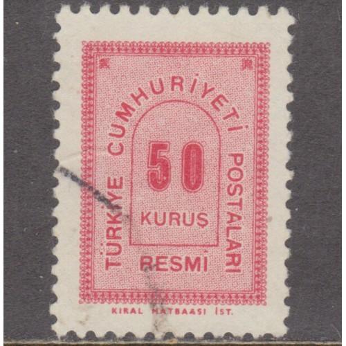 USED TURKEY #O87 (1963)