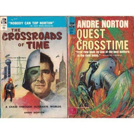 NORTON Andre Both CROSSTIME Novels Ace
