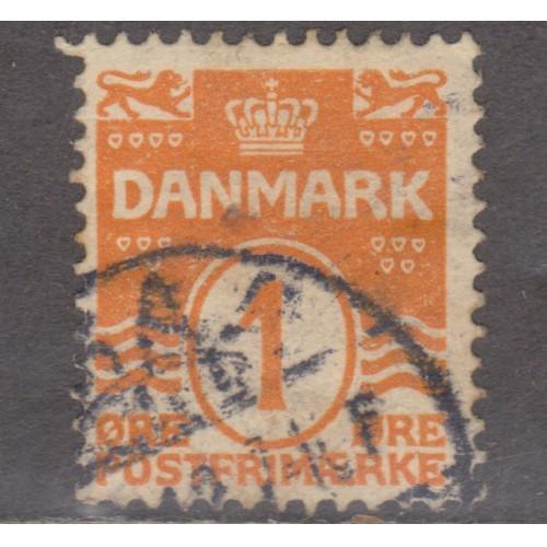 USED DENMARK #57 (1906)