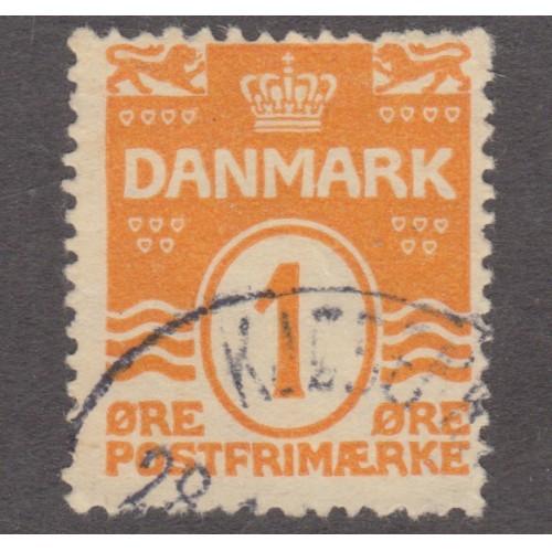 USED DENMARK #85 (1914)