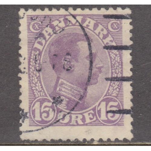 USED DENMARK #102 (1913)