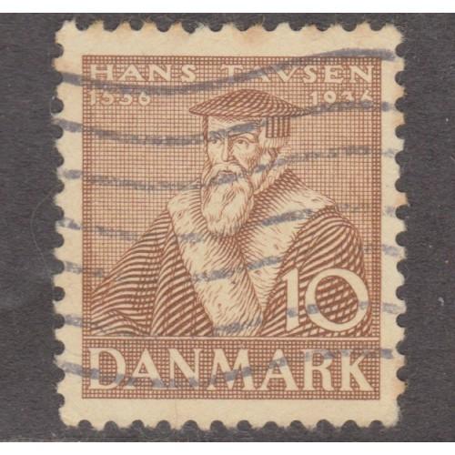 USED DENMARK #254 (1936)