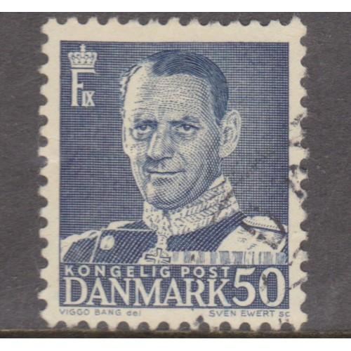 USED DENMARK #324 (1950)