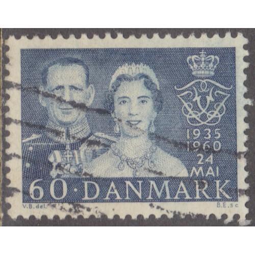 USED DENMARK #375 (1960)