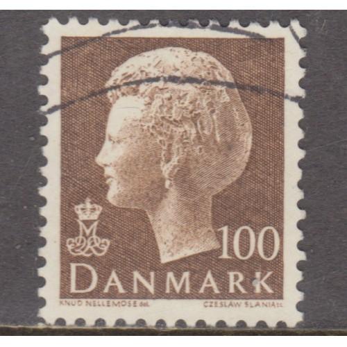 USED DENMARK #544 (1977)