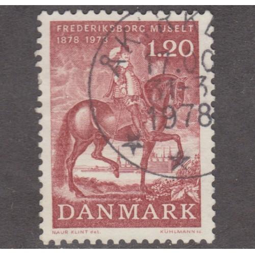 USED DENMARK #612 (1978)