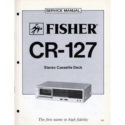 Fisher CR-127 Cassette Deck Service Manual