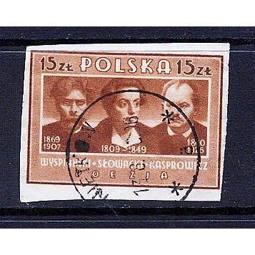 Poland (1947) Sc# 412H used; SCV $0.35