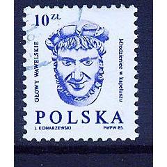 Poland (1984-85) Sc# 2628B used; SCV $0.25