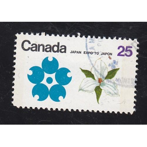 Canada 511p Expo 70 Blue Tagged CTO??? CV = 2.25$