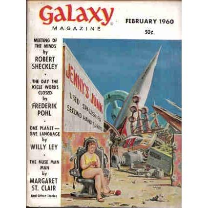 GALAXY 1960/ 2 Simak, Sheckley, St Clair