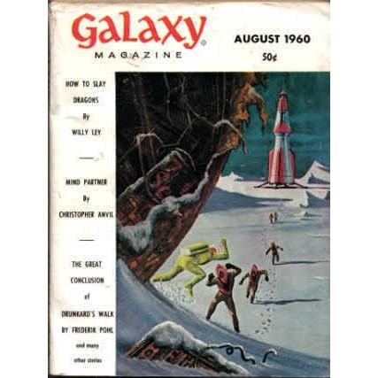 GALAXY 1960/ 8 Anvil MIND PARTNER Barret Pohl