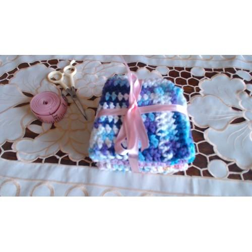 Crochet set of 3 Washcloths/dishcloths