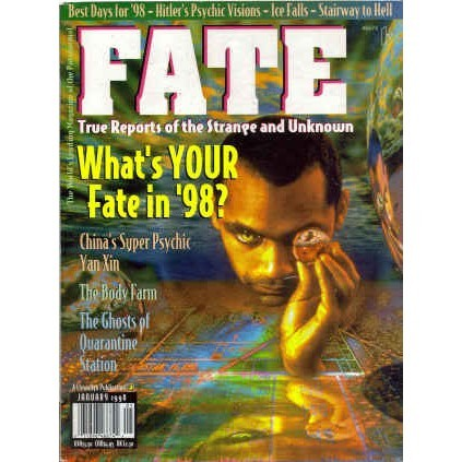 FATE Magazine 1998/ 1 Hitler/Ghosts/Ice Falls