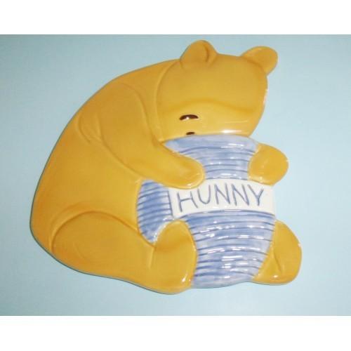 Treasure Craft Disney Winnie The Pooh With Hunny Pot Ceramic Trivet