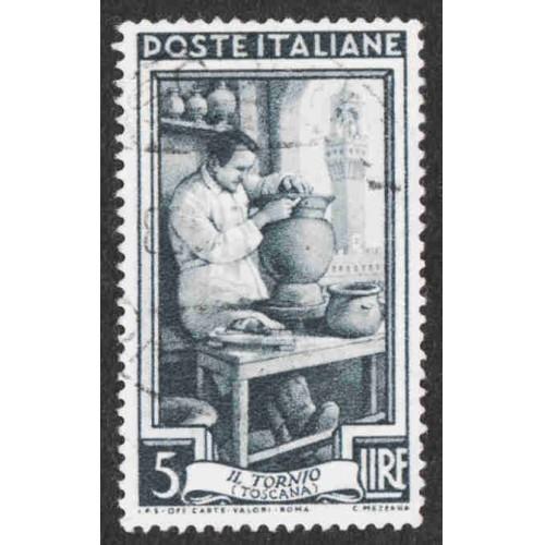 Italy - Scott #552 Used (1)