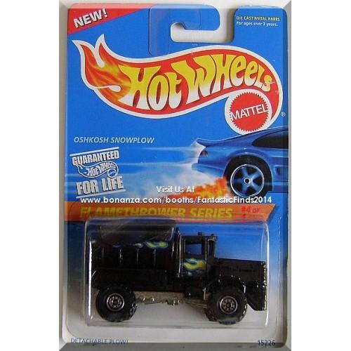 Hot Wheels - Oshkosh Snowplow: Flamethrower Series #4/4 - Collector #387 (1996)