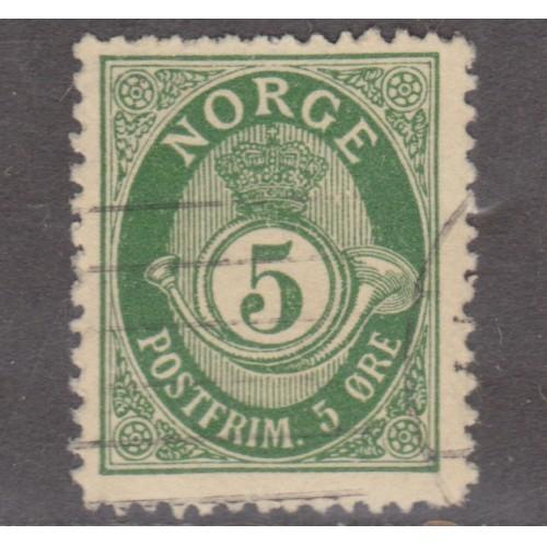 USED NORWAY #50 (1898)